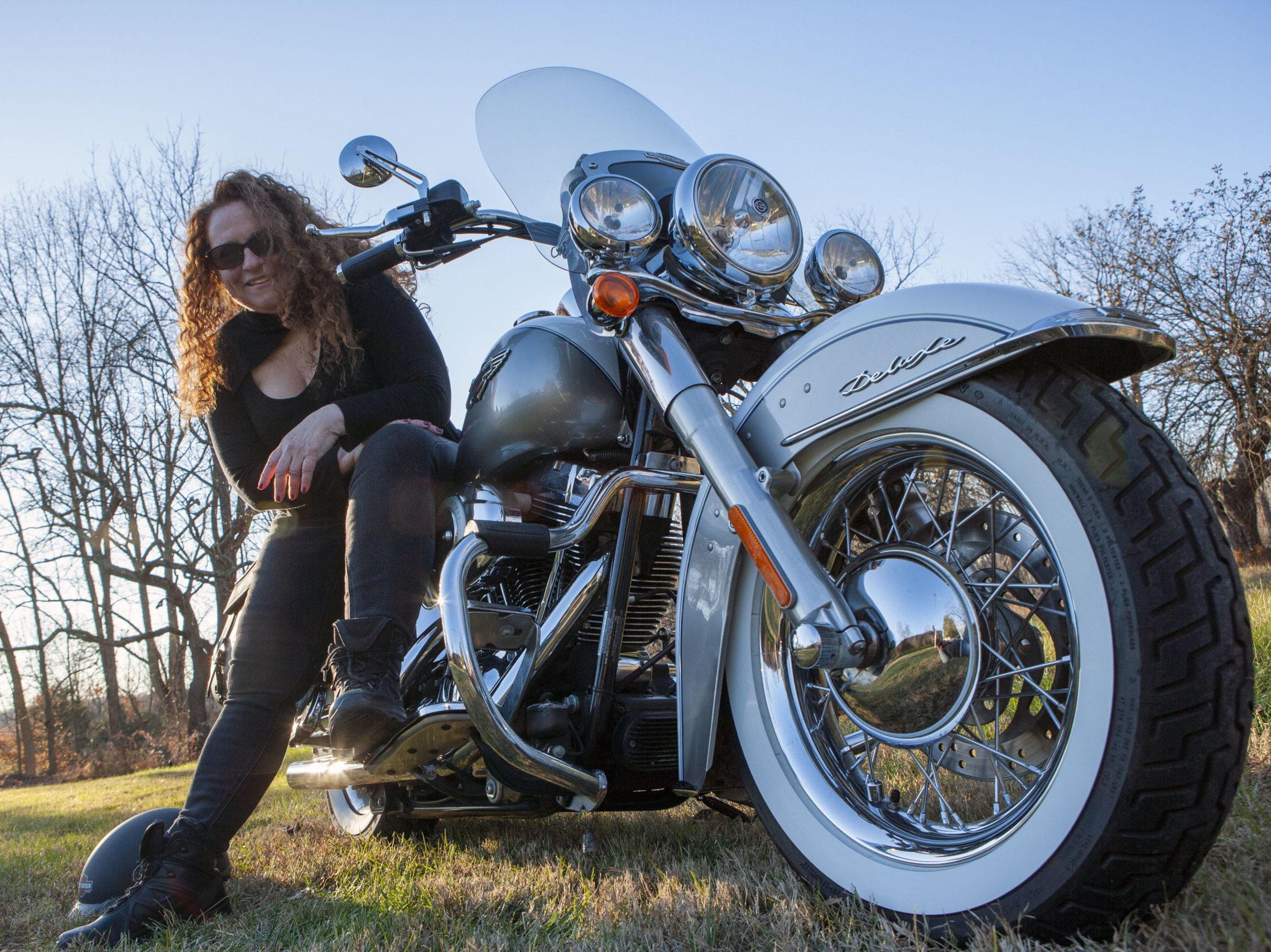 Bridget Kellogg Women Who Ride Harley-Davidsons